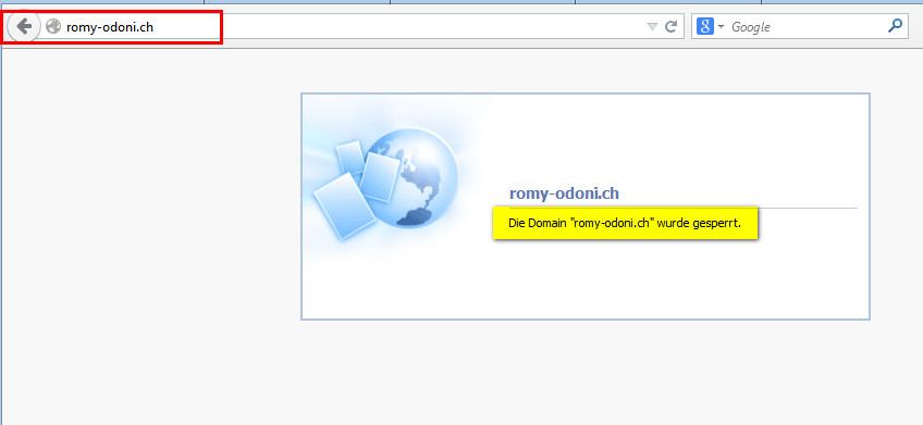Romy_Odoni_Domain_gesperrt
