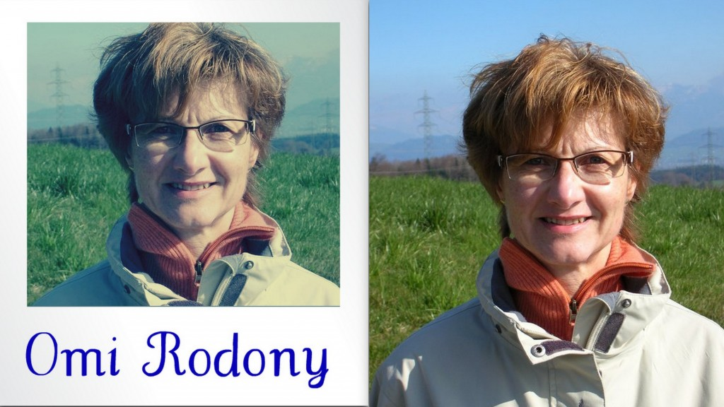 Omi Rodony - Romy Odoni Vergleich