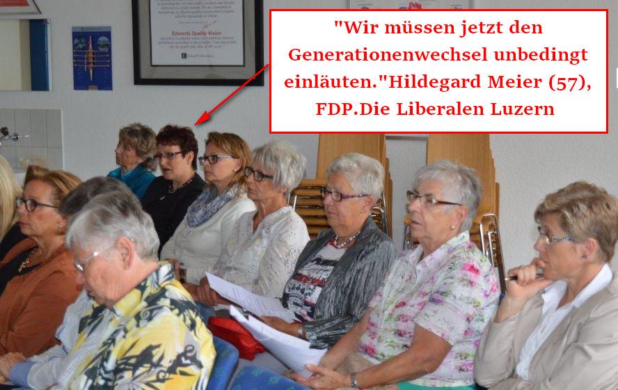Hildegard Meier Generationenwechsel