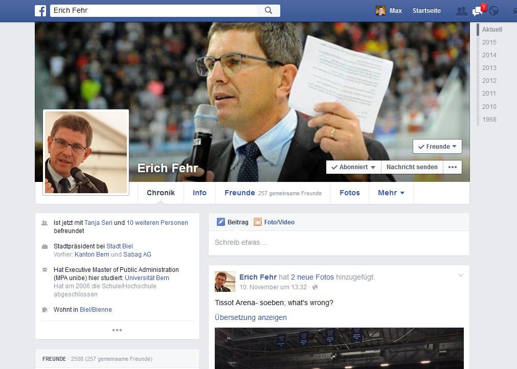 Facebook_Erich Fehr