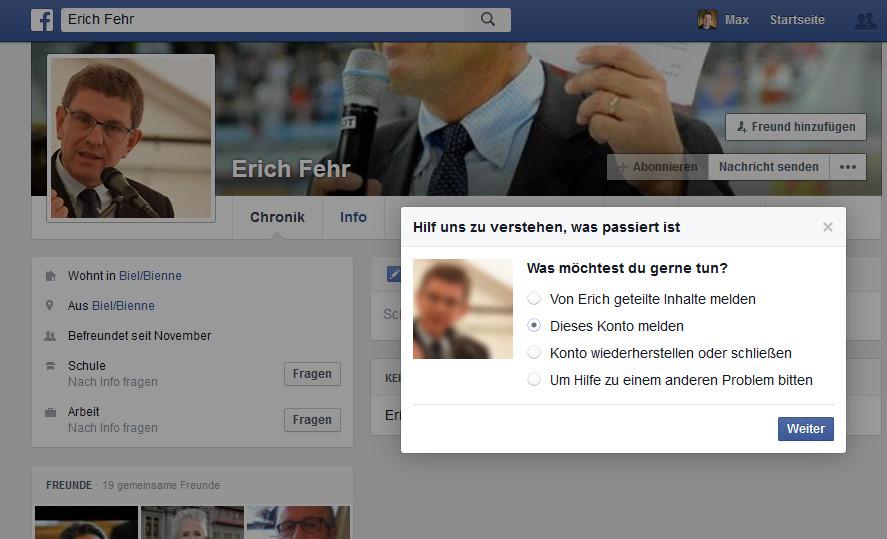 Facebook_Erich_Fehr_melden