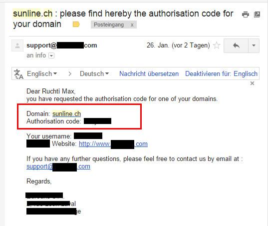 sunline_domain_transfercode