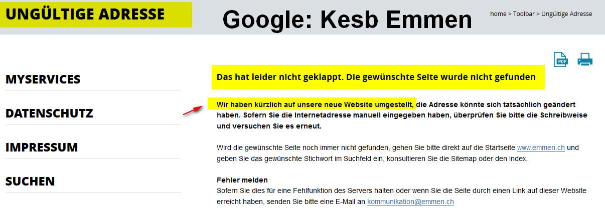 kesb emmen google