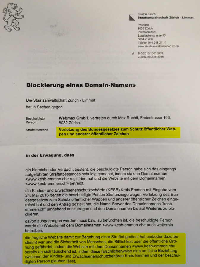 kesb-Emmen_Domainblockierung_markiert