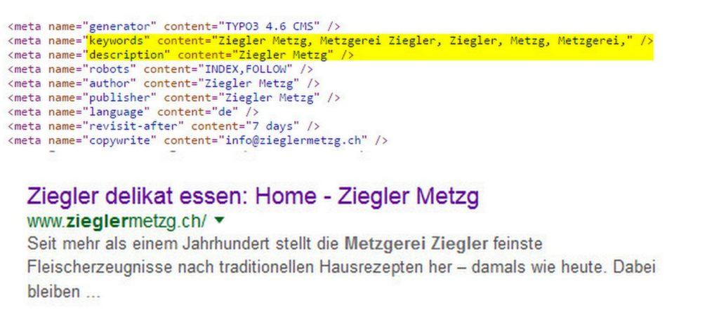 Ziegler_Metzgerei_Quellcode_Google