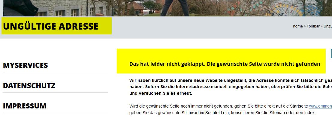 emmen-webseite-offline