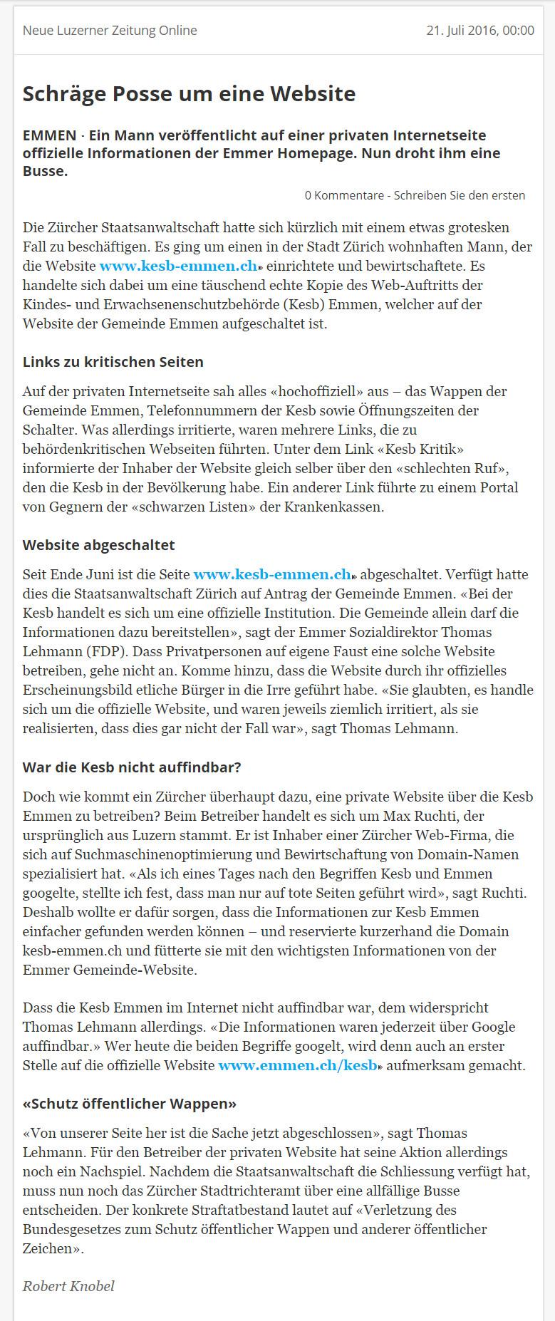 kesb_emmen_schraege_Posse_um_eine_webseite
